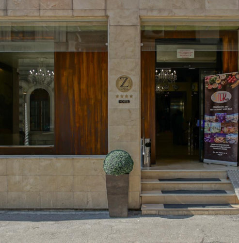 Z Executive Boutique Hotel entrance